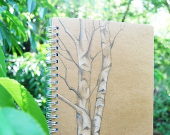 Notebook Birch Trees