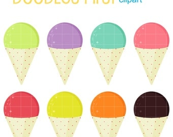Clip Art Snow Cone Clip Art snow cone etsy cones digital clip art for scrapbooking card making cupcake toppers paper crafts