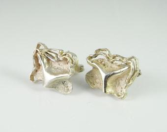Silver Cufflinks Unique Cufflinks Vintage Cufflinks Groom Cufflinks Wedding Cufflinks Antique Cufflinks Mens Cuff Links Accessories R3032
