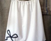 Custom Cotton Slip/ Made to order slip/ Batiste half slip/ Pretty custom slip/ Summer weight slip