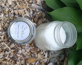 Organic Coconut Oil - 6oz Jar
