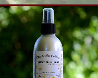 Insect Repellent, Deet Free, Bug Spray, Natural Bug Spray, Mosquito Repellent, Bug Be Gone, Deet-Free, Bug Repellent, Insect Spray