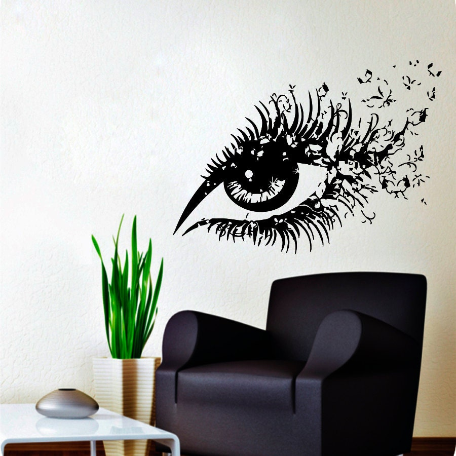 wall decals hairdressing hair beauty salon decal vinyl sticker. Black Bedroom Furniture Sets. Home Design Ideas