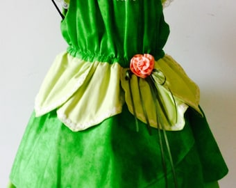 Tinker Bell/Fairy Princess Toddler Dress 2T
