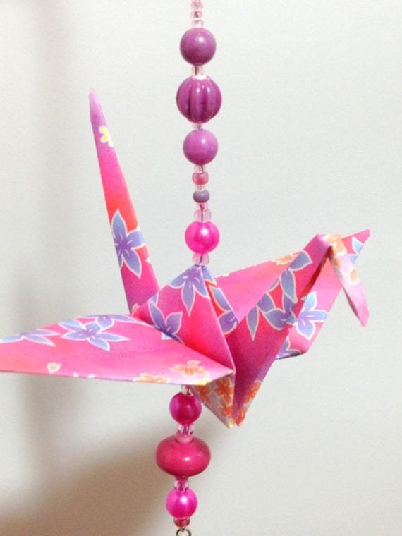Sale Origami Crane Decorations Hanging By Flyingcraneorigami