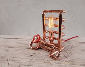 TENDO Copper Table Lamp