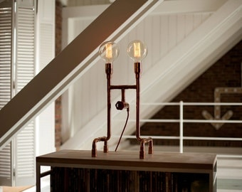 AERO Copper Table Lamp