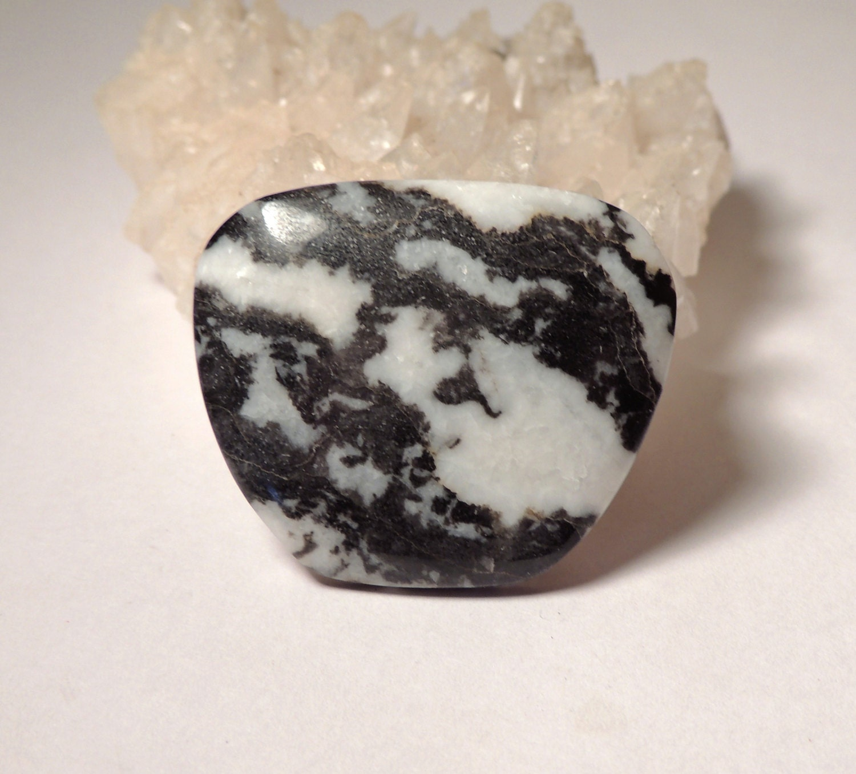 Natural Zebra Stone Zebra Marble By Littlevalleylapidary