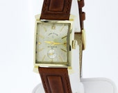 14K Gold Lord Elgin 23 Jewel Wrist Watch
