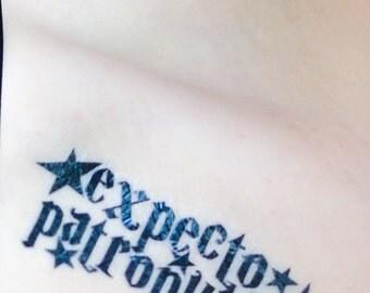 Expecto Patronum Harry Potter-Inspired Temporary Tattoo