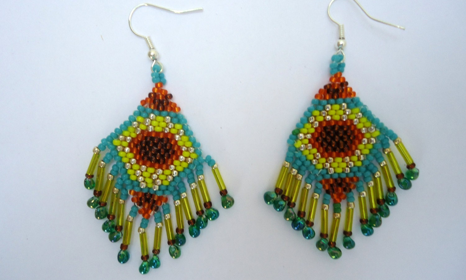 how to make indian beaded earrings