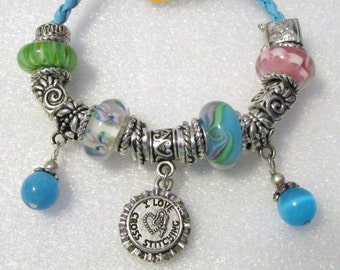 840 - Get Crafty - Cross Stitching Bracelet