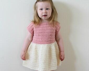CROCHET PATTERN, Crochet Dress Pattern, Dress Pattern, Crochet Dress, Toddler Dress Pattern, Girls Dress, Crochet, Instant Download (Pdf 09)
