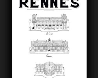 The palaces of Rennes SRA3