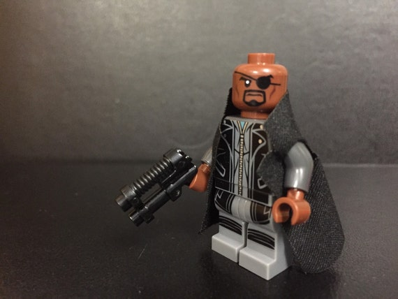 Marvel Avengers Nick Fury lego style by Sayitwithcomics on ...