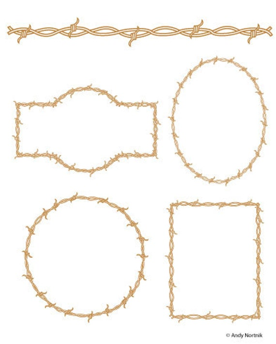 Barbed wire clip art clipart commercial and