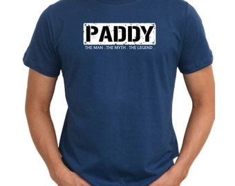 Paddy  The Man  The Myth  The Legend T-Shirt