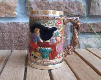 Vintage Beer Stein, Made in Japan -free shipping