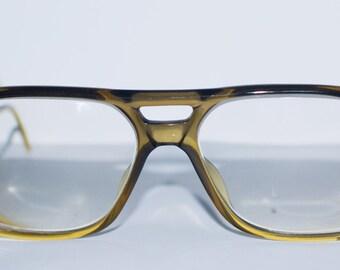 Vintage 80's Aviator Fade Terri Brogan Men's 8730 Optyl Germany Glasses.