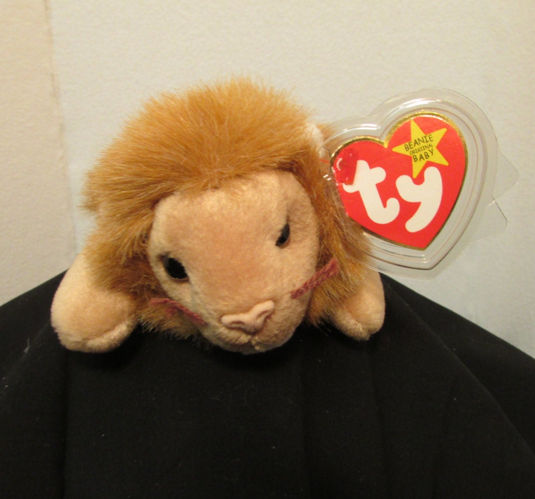 Ty Roary The Lion Beanie Baby Errors On Tag