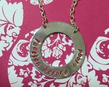 Faction Before Blood Divergent necklace