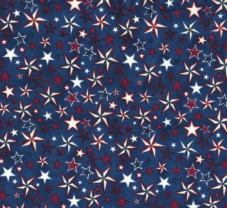 Patriotic star fabric pride glory rjr dan morris 2067 for Star fabric australia