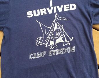 Camp Everton Vintage Boy Scout T Shirt, size  M