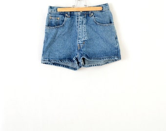 90s mini short jeans poom poom short summer