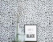 Dalmatian Spot Peel and Stick Removable Wallpaper M1002