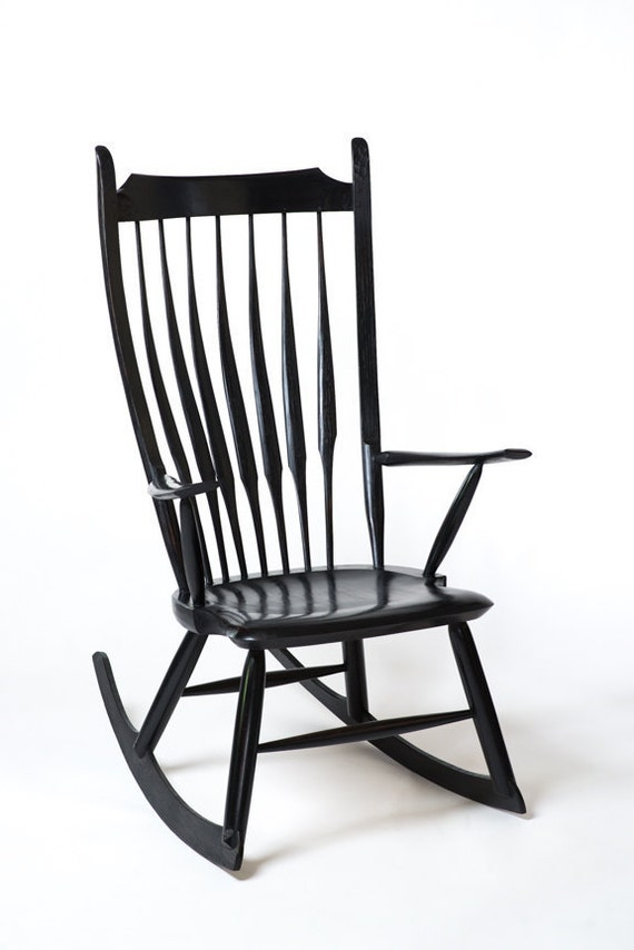 Rocking Chair Nursery Chair Contemporary Windsor Chair