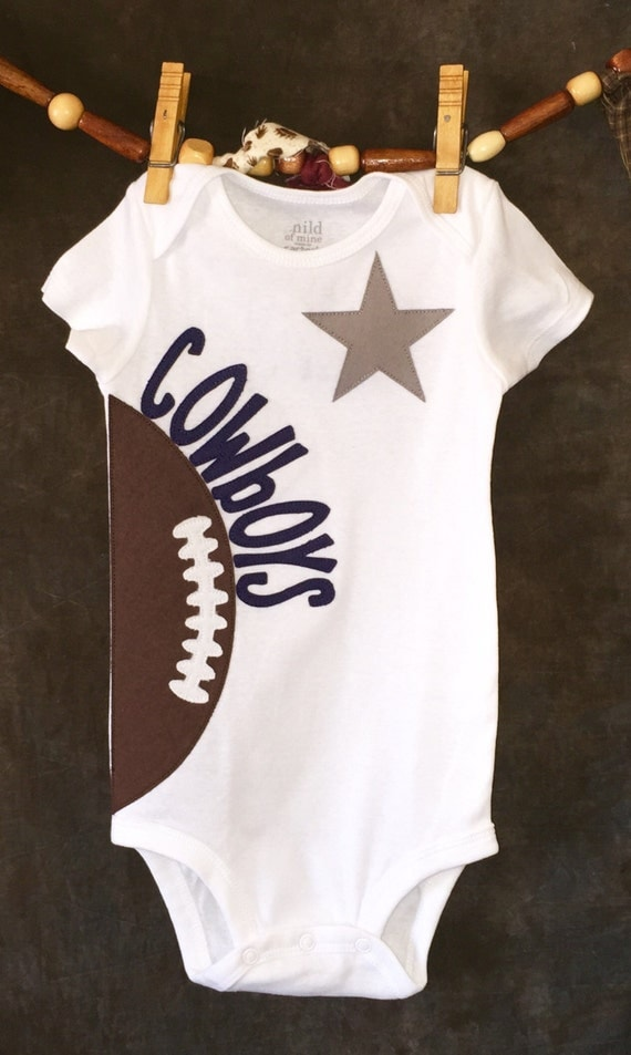 Personalized Dallas Cowboys NFL Team Football by Loonybecks