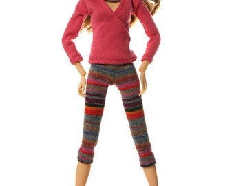 Momoko clothes (leggings): Luisa