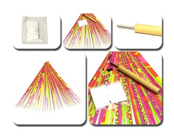 paper beads jewelry making kit how to make paper beads instructions paper bead roller beading tools paper strips jewelry making supplies