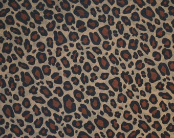 "Leopard Print Tissue Paper #207 / GIft Wrap Paper ... 10 Large Sheets .... 20"" x 30""  -  Animal print"