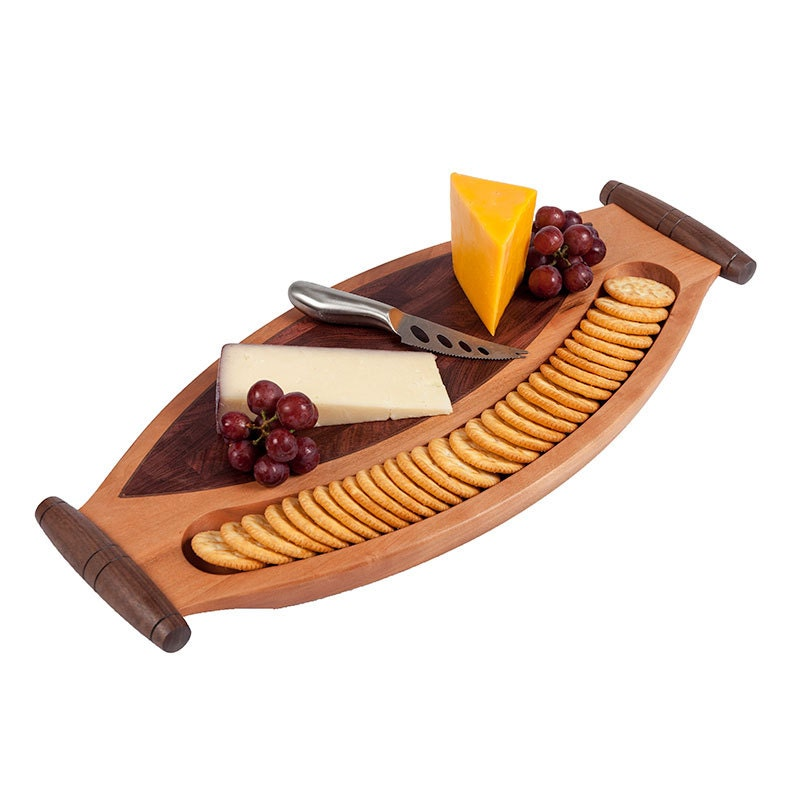 Wooden cheese board wood serving tray server