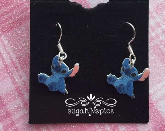 lilo and stitch earrings stitch earrings disney earrings
