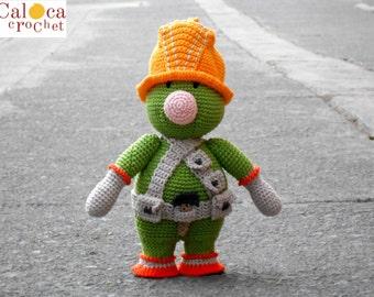 Doozer Fraggle Rock amigurumi pattern. By Caloca Crochet