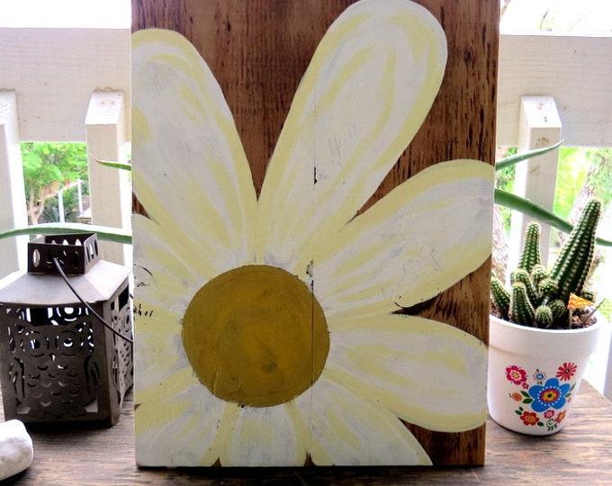 Flower Power - Wood Pallet Art
