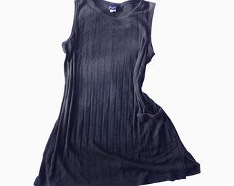 Knit Small/Medium Blue Jumper Dress