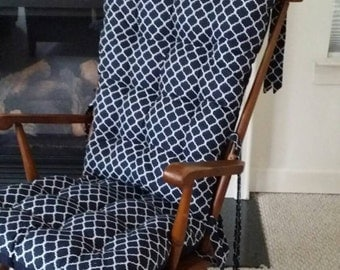 rocking chair seat cushions etsy home design zeri us