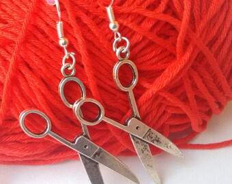 Scissors earring charm (medium size)