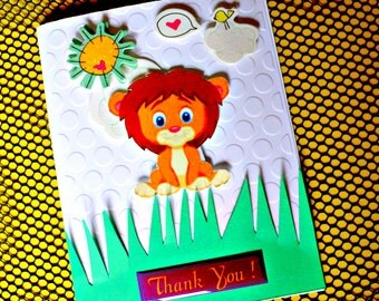 Thank you cards, Thank you cards kids, handmade thank you card, Thank you notes, Thank you note card, thank you cards birthday