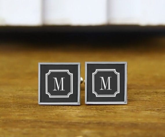 initials cuff links, personalezed initials cuff links, custom gifts, custom wedding cufflinks, round, square cufflink, tie clips, or set