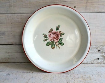 White Pie Plate Etsy
