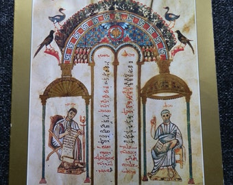 Vintage Book: Late Antique and Early Christian Book Illumination by Kurt Weitzmann 1977