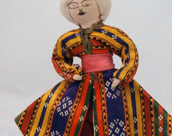 Male Cloth Vintage Doll from Turkey 1970s