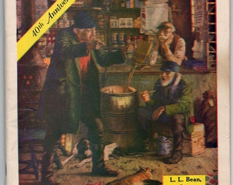 Genuine Vintage 1952 40th Anniversary L.L. Bean Catalogue -- Free Shipping