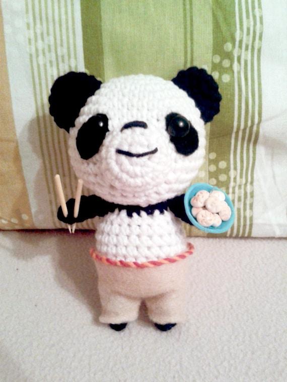 Articles similaires ? Kung Fu Panda peluche Amigurumi sur Etsy