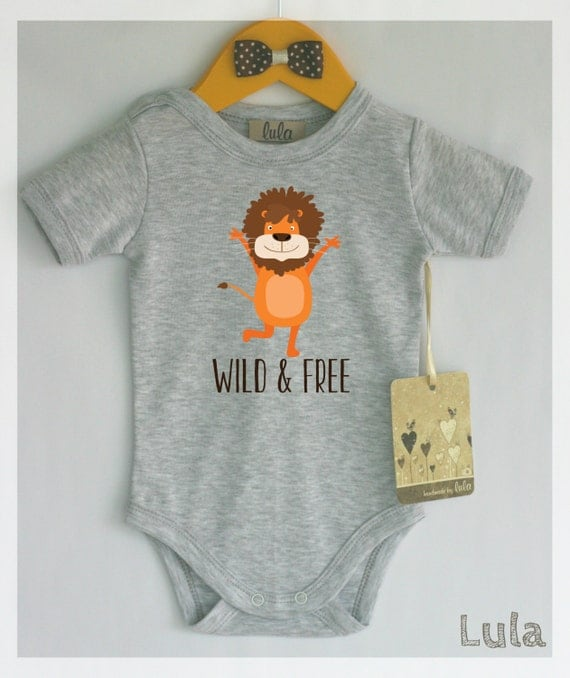 Items similar to New Wild & Free baby clothes Adorable