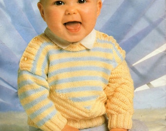 4 Ply Knitting Patterns Free Download : baby toddler childrens cardigan knitting pattern pdf by Minihobo